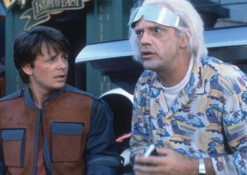La emotiva reunión de Doc y Marty de Volver al futuro