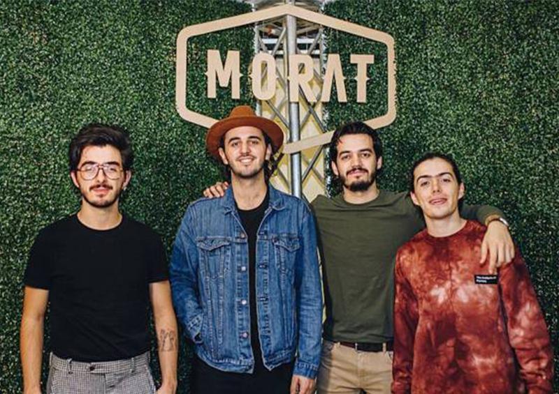 """Morat publica avance de su próximo sencillo """"No termino"""""""