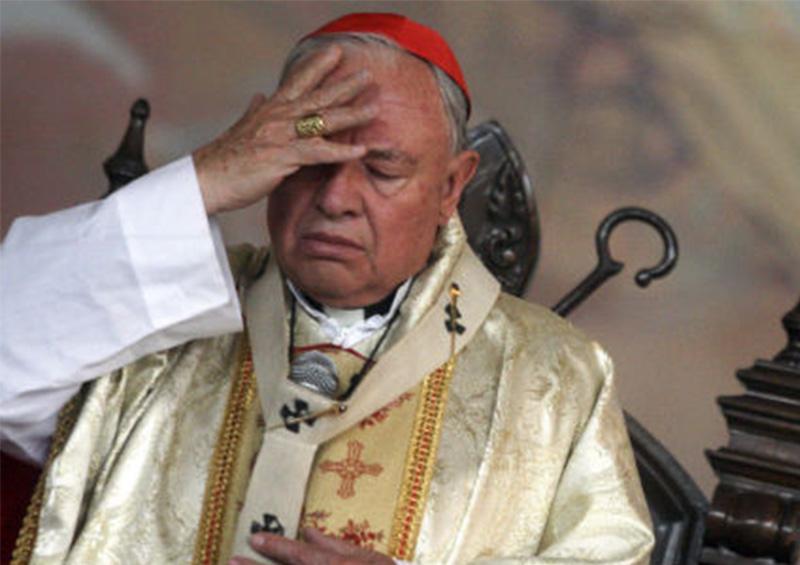 """Cardenal Sandoval Iñiguez llama a decir """"no"""" al paro de mujeres"""