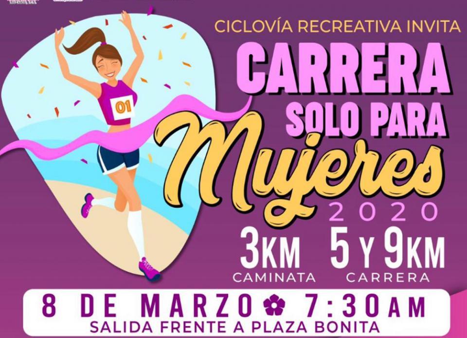 """Agotados los espacios para la """"Carrera Solo Para Mujeres"""""""