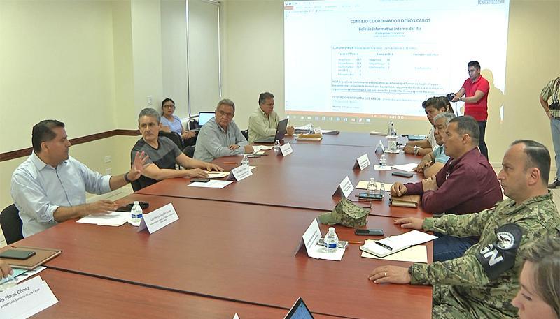 Acuerdan autoridades e iniciativa privada de Los Cabos estrategias emergentes ante Covid19
