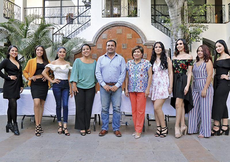 Presentan 7 participantes para ser reina de Fiestas Tradicionales San José del Cabo 2020