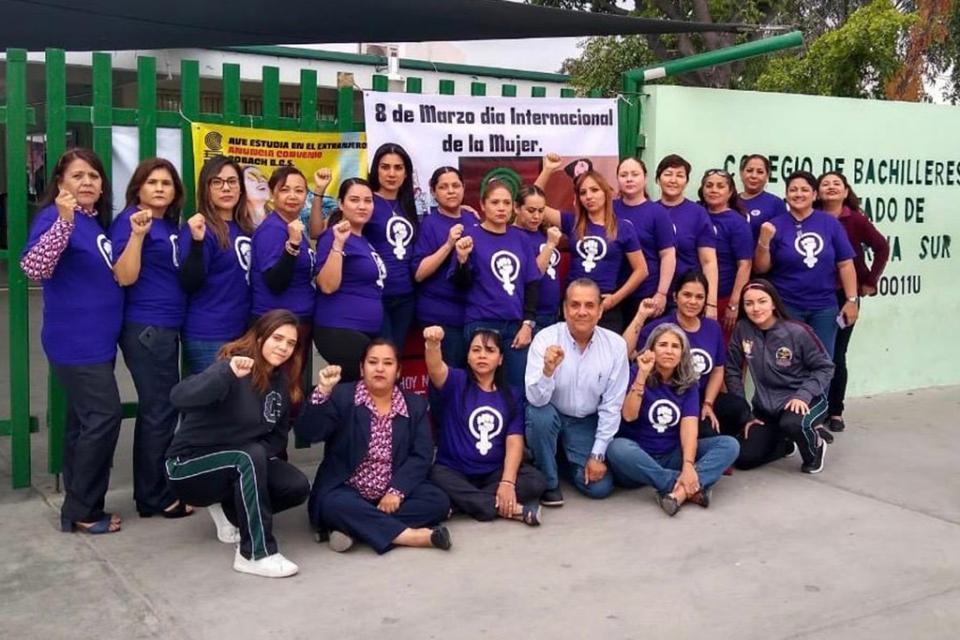 Conmemora Cobach de BCS Día  Internacional de la Mujer