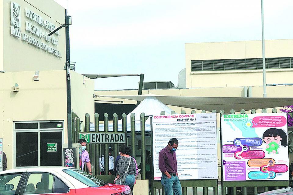 Restringen entrada IMSS e Issste por contingencia epidemiológica
