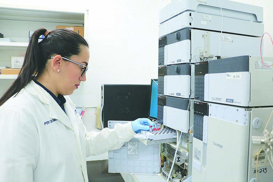 Realizó Laboratorio de  Química Forense de PGJE  más de mil pruebas en 2019