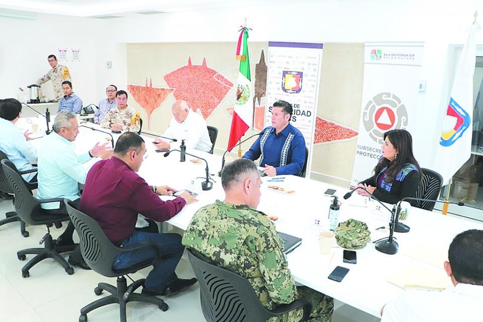 Establecen operativo especial de vigilancia  por contingencia sanitaria: Mesa de Seguridad