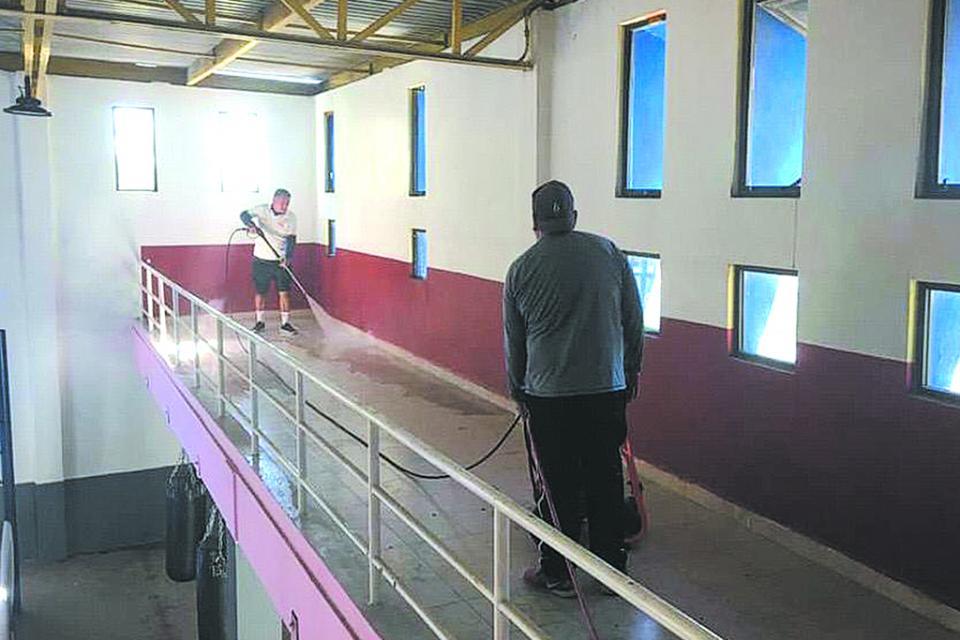 Desinfectarán los espacios deportivos antes que  se reanuden actividades en Los Cabos: Indem