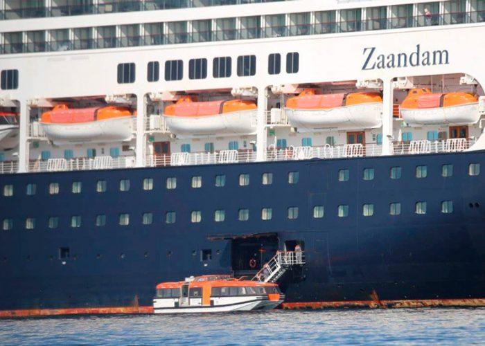 Crucero con 2 fallecidos por coronavirus pretende llegar a Florida