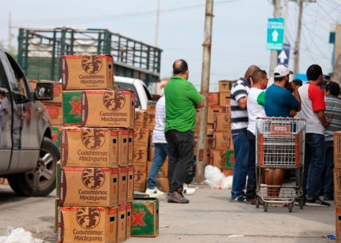 Ante cese en producción por coronavirus, compras de cerveza crecen 7%