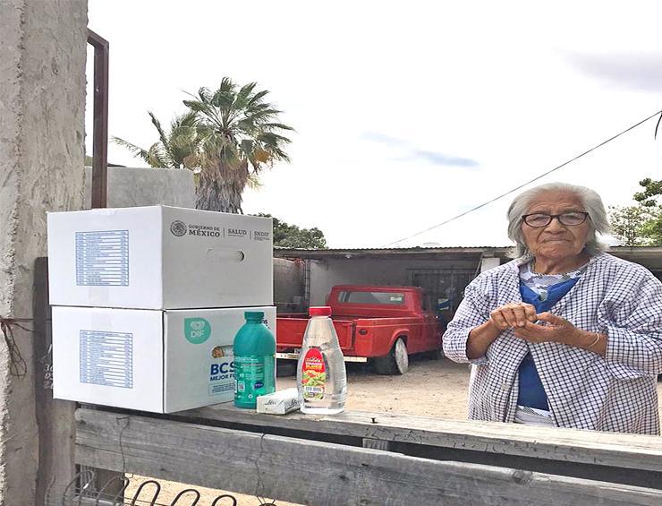 Implementan entrega a domicilio de apoyos alimentarios: SEDIF