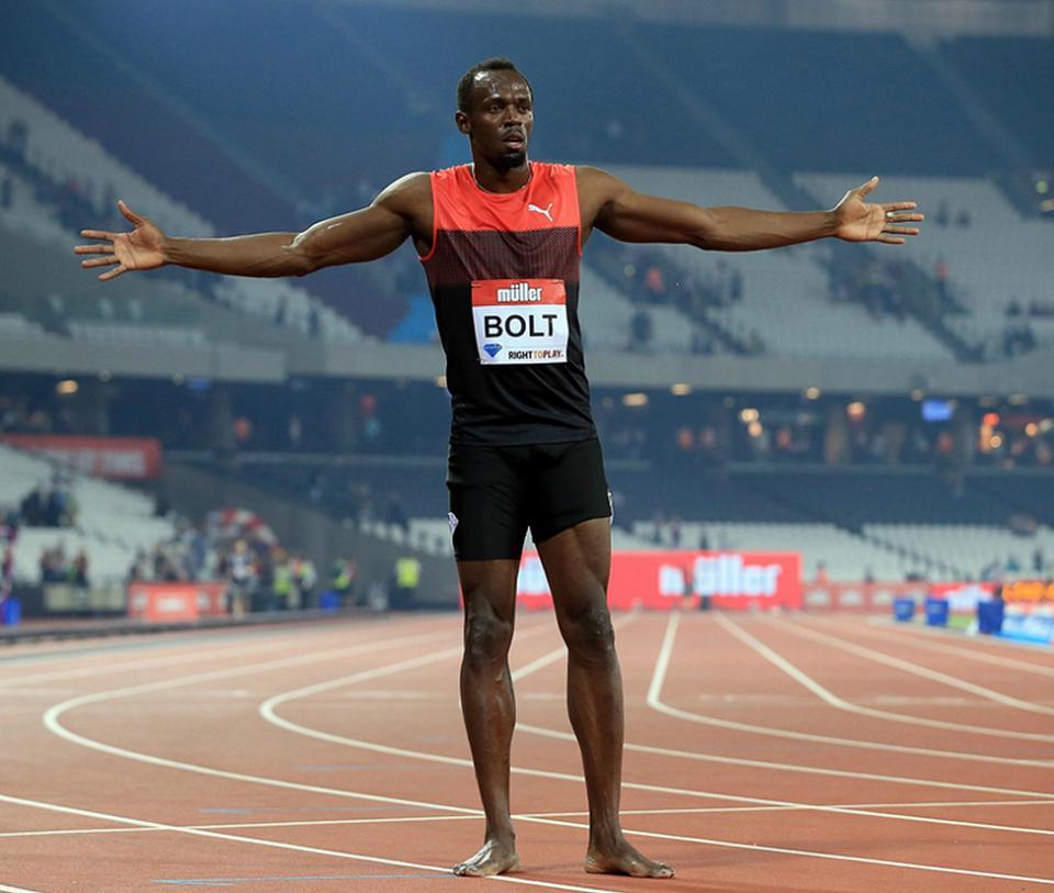 Usain Bolt participa en Teletón de Jamaica, en lucha contra COVID-19