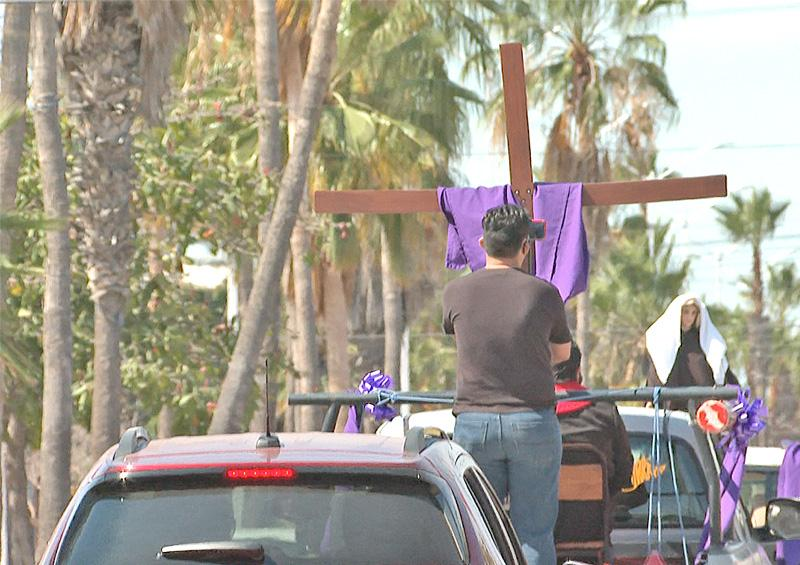 Culmina con recorrido por la ciudad conmemoración de la crucifixión de Cristo