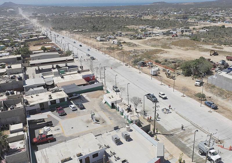 Abren al tránsito vehicular la avenida Nicolás Tamaral