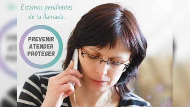 La ayuda está al alcance de un WhatsApp: Lorena Cortés