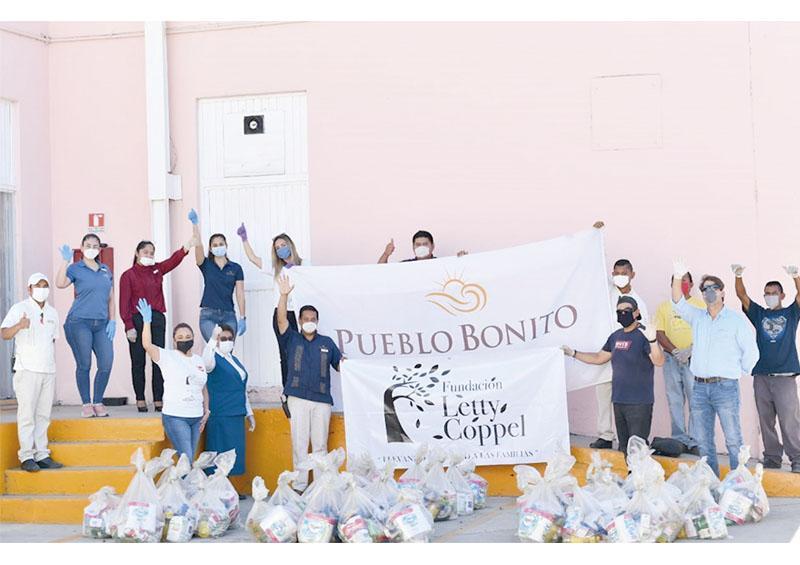 Fundación Pueblo Bonito dona dos mil despensas más a la Alianza Comunitaria de BCS