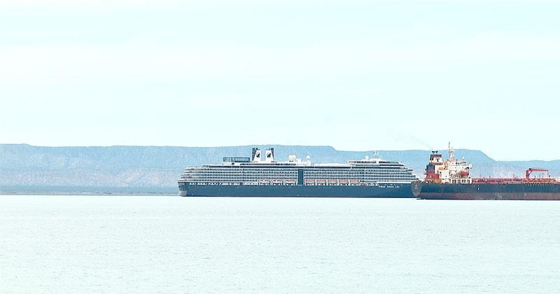 Continuará presencia de cruceros en la Bahía de La Paz y Los Cabos