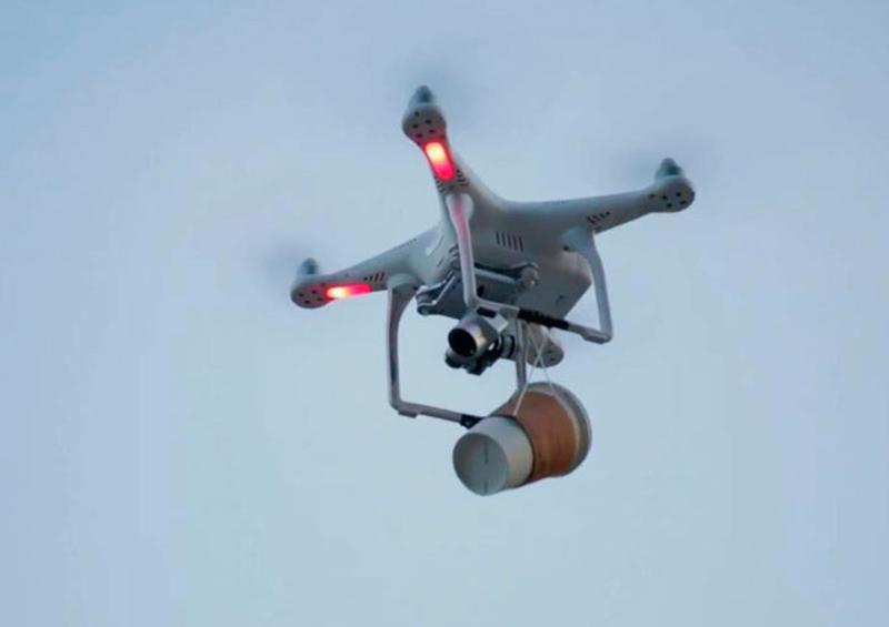 ¿Pedir café con un dron? Todo es posible en cuarentena