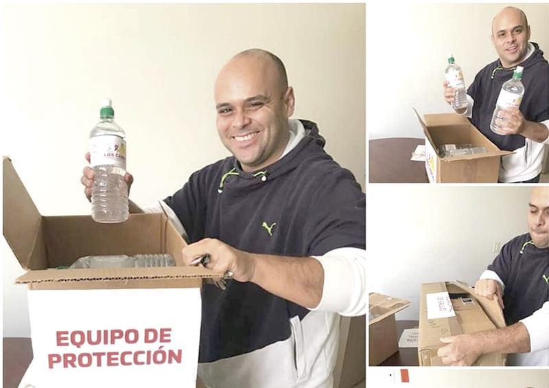 Apoya Gobierno de Los Cabos a hospitales y clínicas con equipo de protección