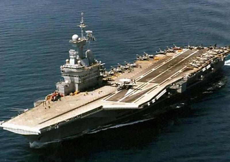 Reportan brote de coronavirus a bordo del portaaviones Charles de Gaulle