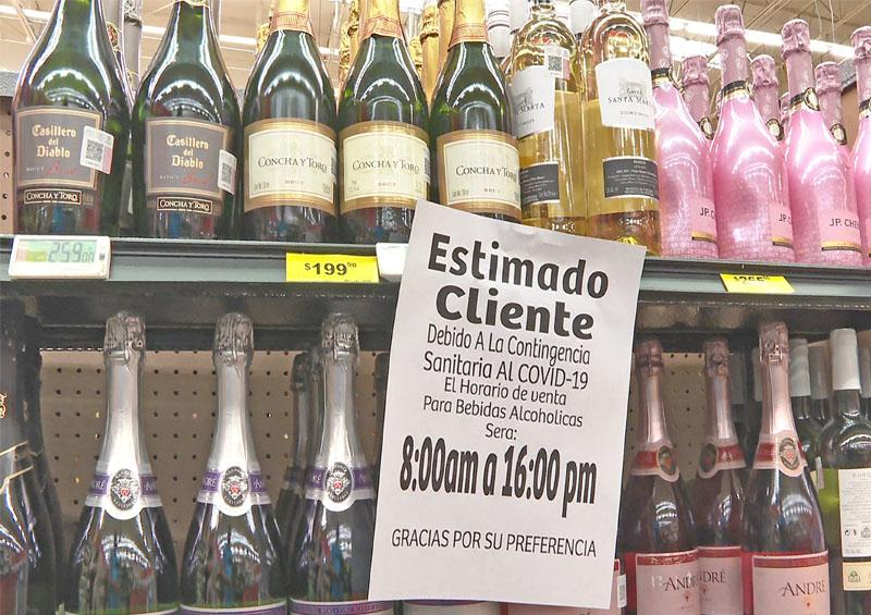 Supermercados de la cabecera municipal instalan medida para la compra de alcohol