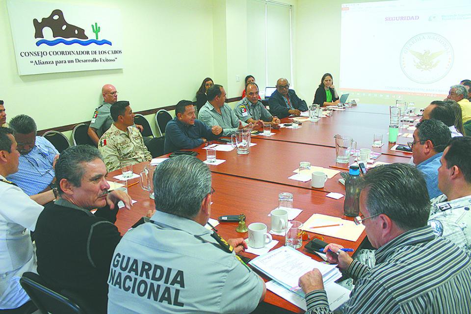 Que la entrega de despensas por asociaciones  y grupos en Los Cabos sea con resguardo de fuerzas policíacas, pide el CCC