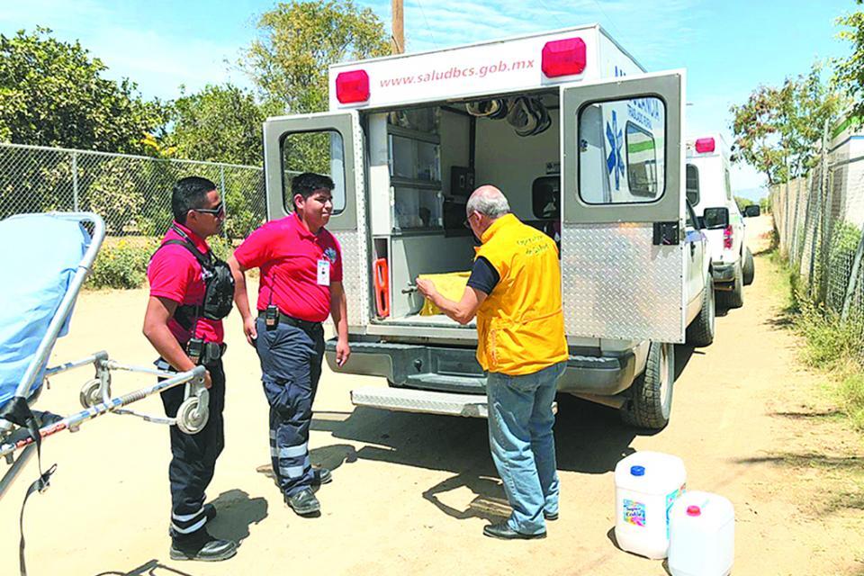 Preparan a paramédicos de zonas rurales sobre Covid-19