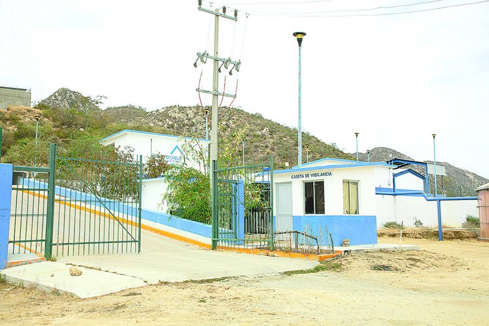 Potabilizadora San Lázaro en condiciones de abastecer de agua potable a SJC