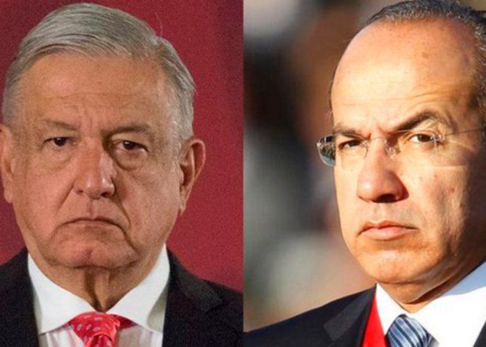 Debe dejar AMLO de distraer a la opinión pública conmigo: Felipe Calderón