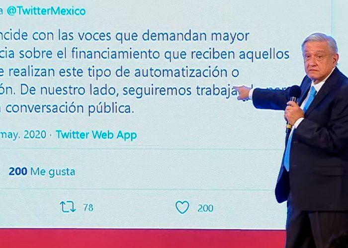"""""""¡Existen los Robots!"""" López Obrador"""