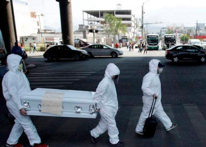 En sólo 24 horas, 257 pacientes con Covid-19 fallecieron en México