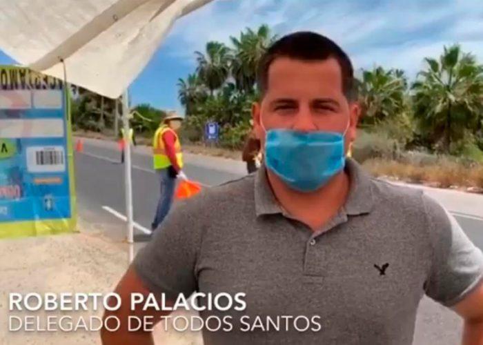 Confirman primer caso de covid-19 en Todos Santos