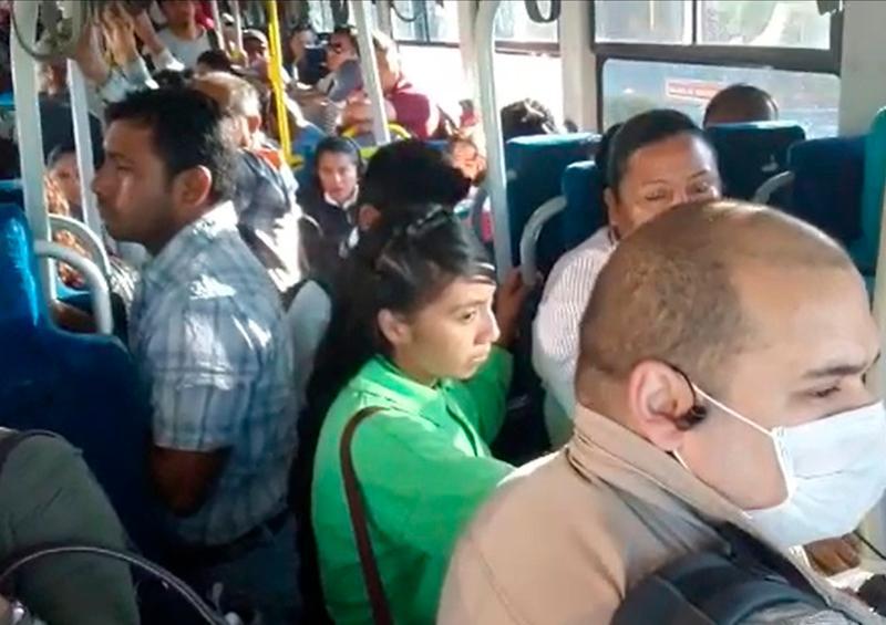 Sancionan al transporte público por saturar unidades en Los Cabos