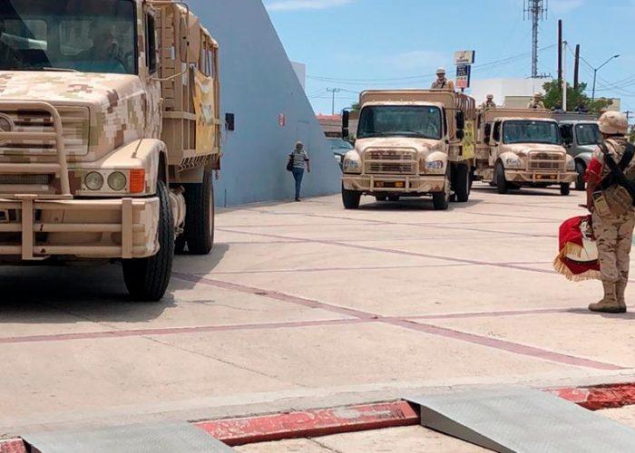Reportan brote de Covid-19 en zona militar de Guerrero Negro