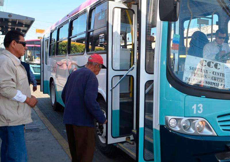 Inspeccionará COEPRIS exceso de pasajeros en transporte público