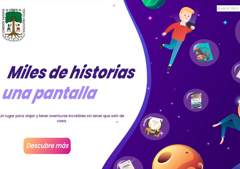 SEP pone a disposición de niños y jóvenes biblioteca digital
