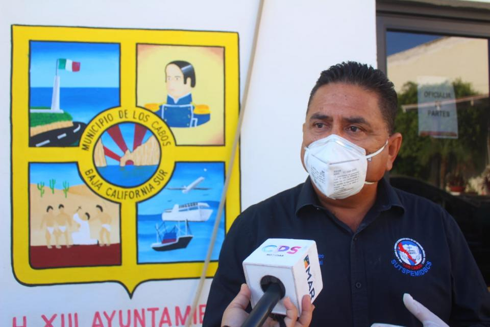 Sindicato de Burócratas hizo entrega de 50 kits de prevención contra el Covid-19 a colaboradores de Servicios Públicos