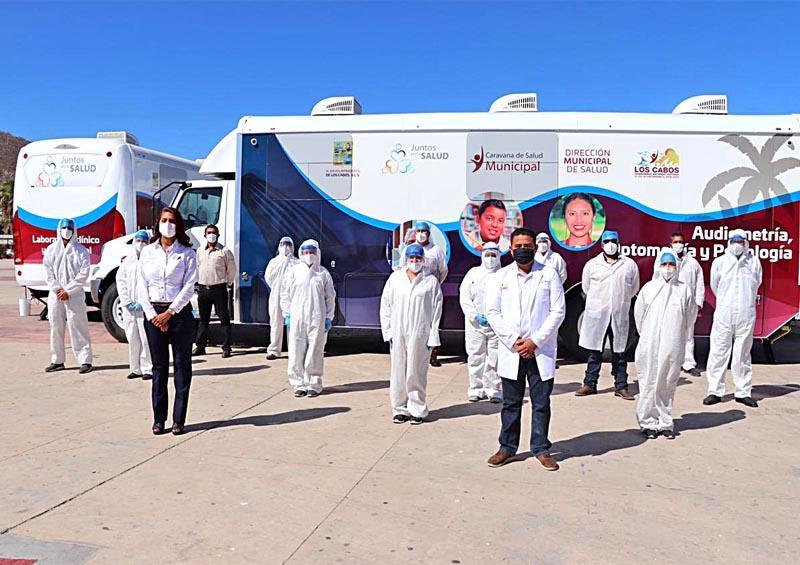"""Continúa programa """"Caravana de Salud"""" atendiendo a la población cabeña"""