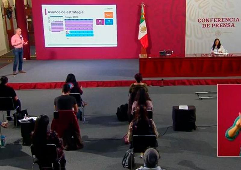 Se acerca México a los 50 mil infectados; hay 5,177 muertos