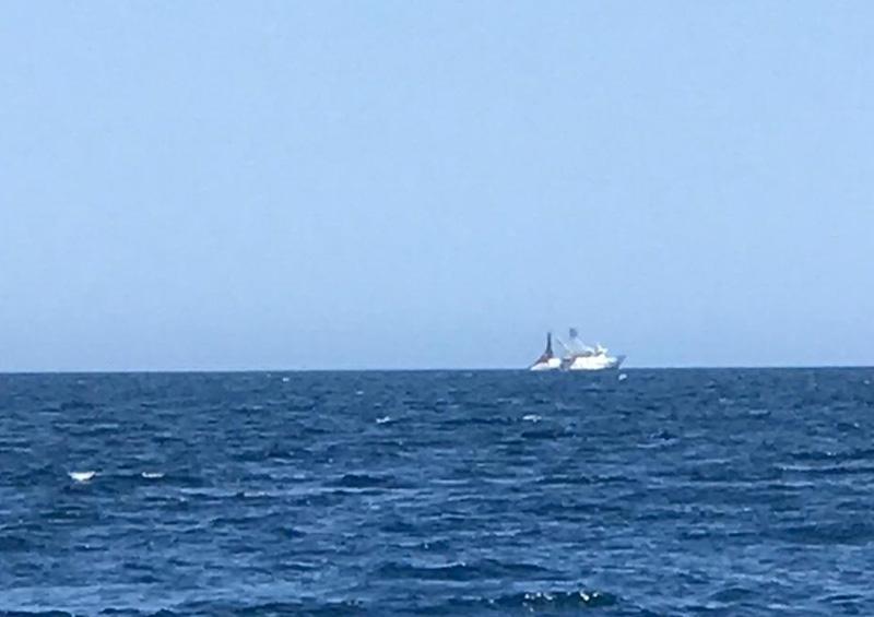 Detectan presencia de pangas pescando con chinchorro en Punta Pescadero y el Cardonal