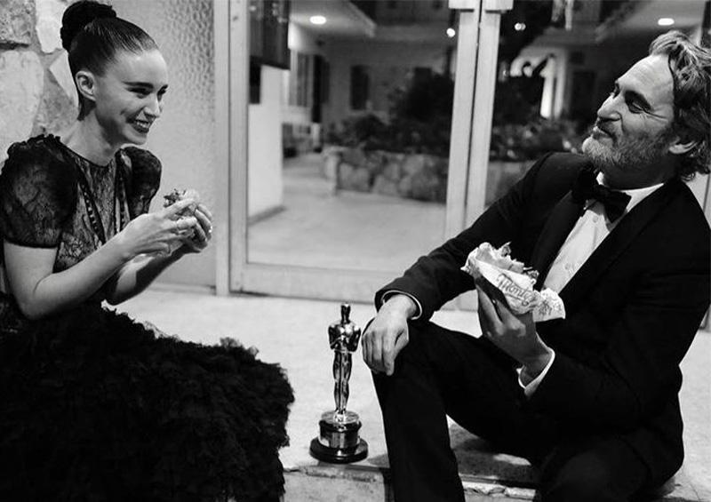 Joaquin Phoenix y Rooney Mara se convertirán en padres