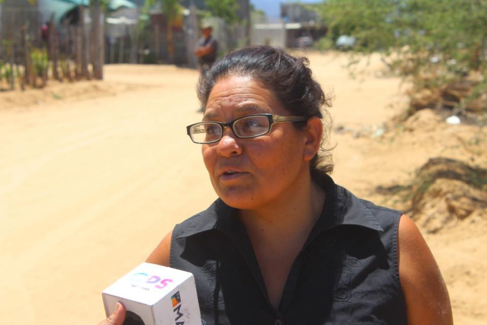 Raquel externa que invadió en Santa Anita por la necesidad de un lugar en donde vivir