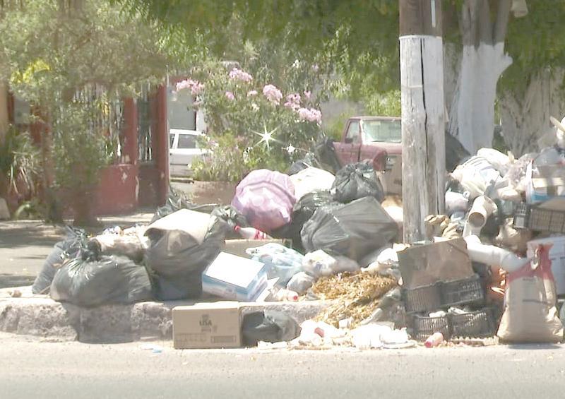 Ciudadanos padecen consecuencias de una semana sin recolección de basura