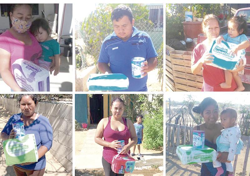 Continúan ayuda de casa por casa en Los Cabos