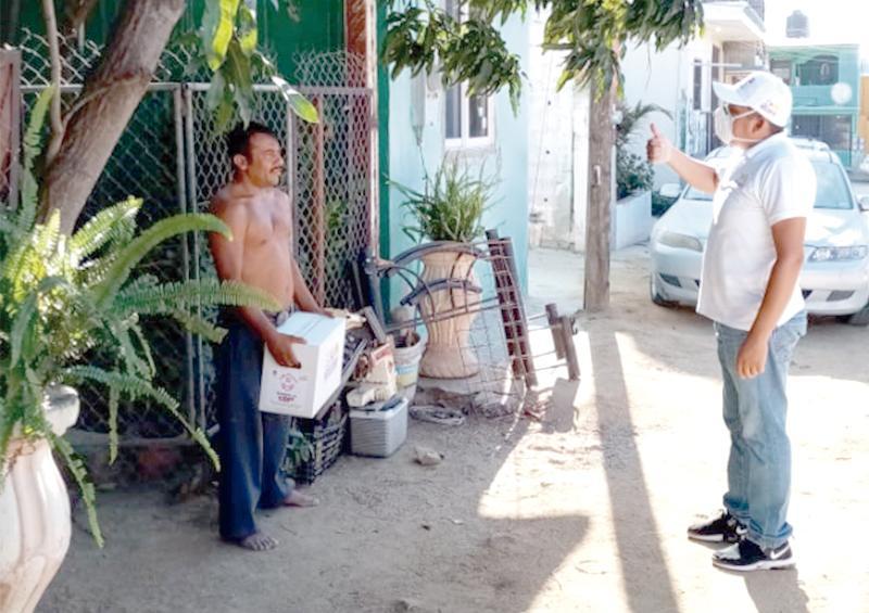 Hasta las rancherías y comunidades más alejadas se ha llegado con ayuda alimentaria: Armida Castro