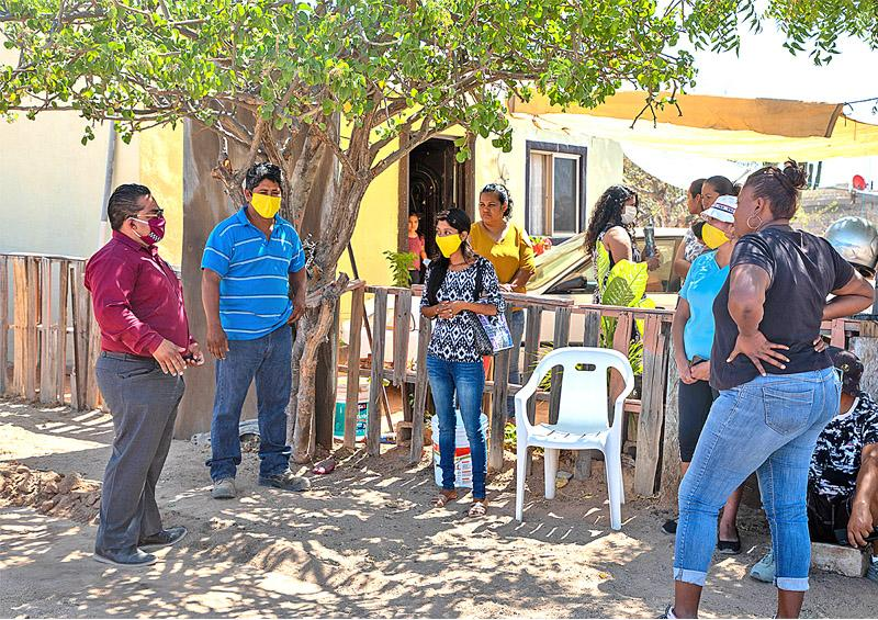 Ciudadanos agradecen suministro gratuito de agua potable durante contingencia