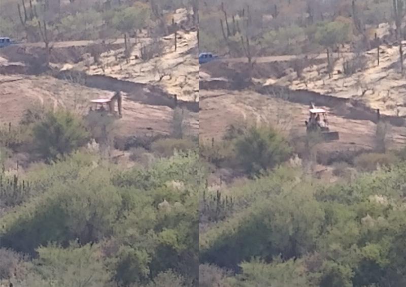 Habitante de CSL denuncia el desmonte de zonas de arroyo
