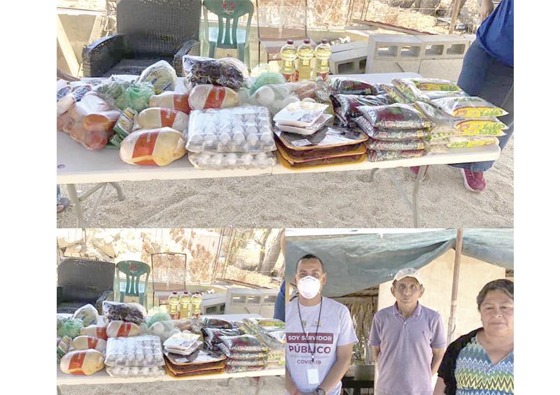 Contribuye Ayuntamiento de Los Cabos para  comedor comunitario en Caribe Bajo