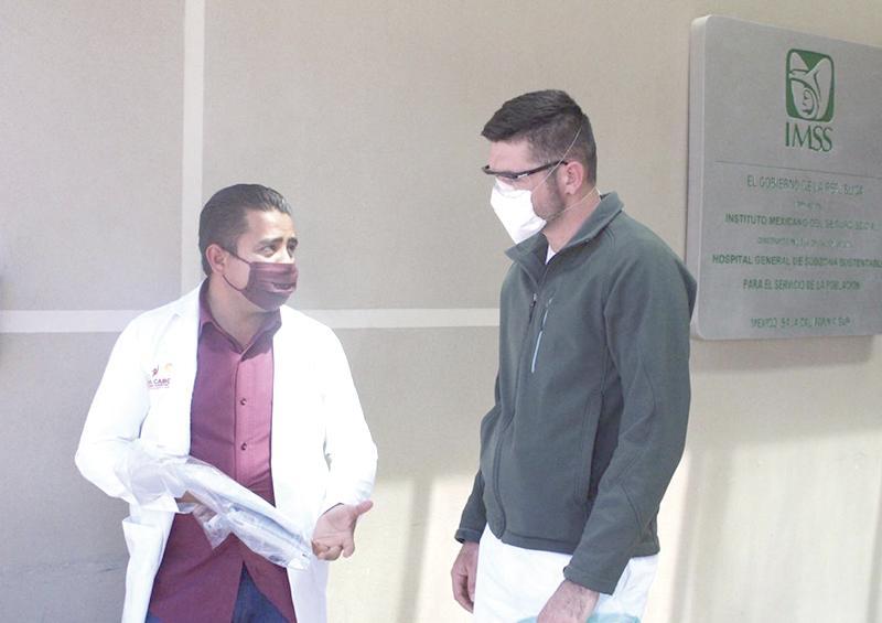 Hasta el momento no hay saturación de hospitales por casos de Covid-19 en Los Cabos
