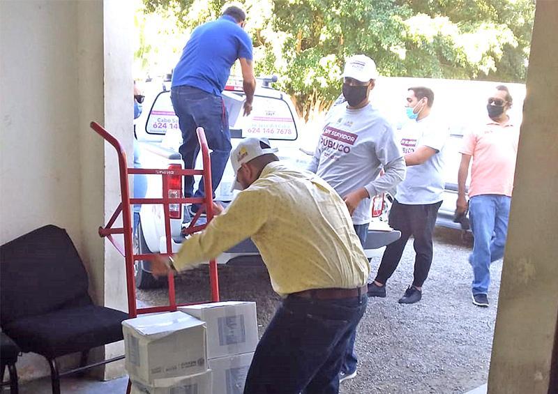 Más de mil 100 llamadas diarias de ciudadanos pidiendo apoyos alimentarios recibe Ayuntamiento de Los Cabos