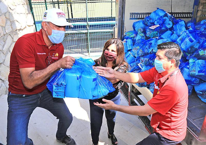 Agradece alcaldesa Armida Castro a empresas que se suman con apoyos alimenticios durante contingencia